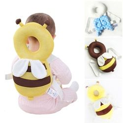 Large Baby Head Protection Pad Toddler Headrest Pillow  Neck Cute Wings Nursing Drop Resistance Cushion YYT341