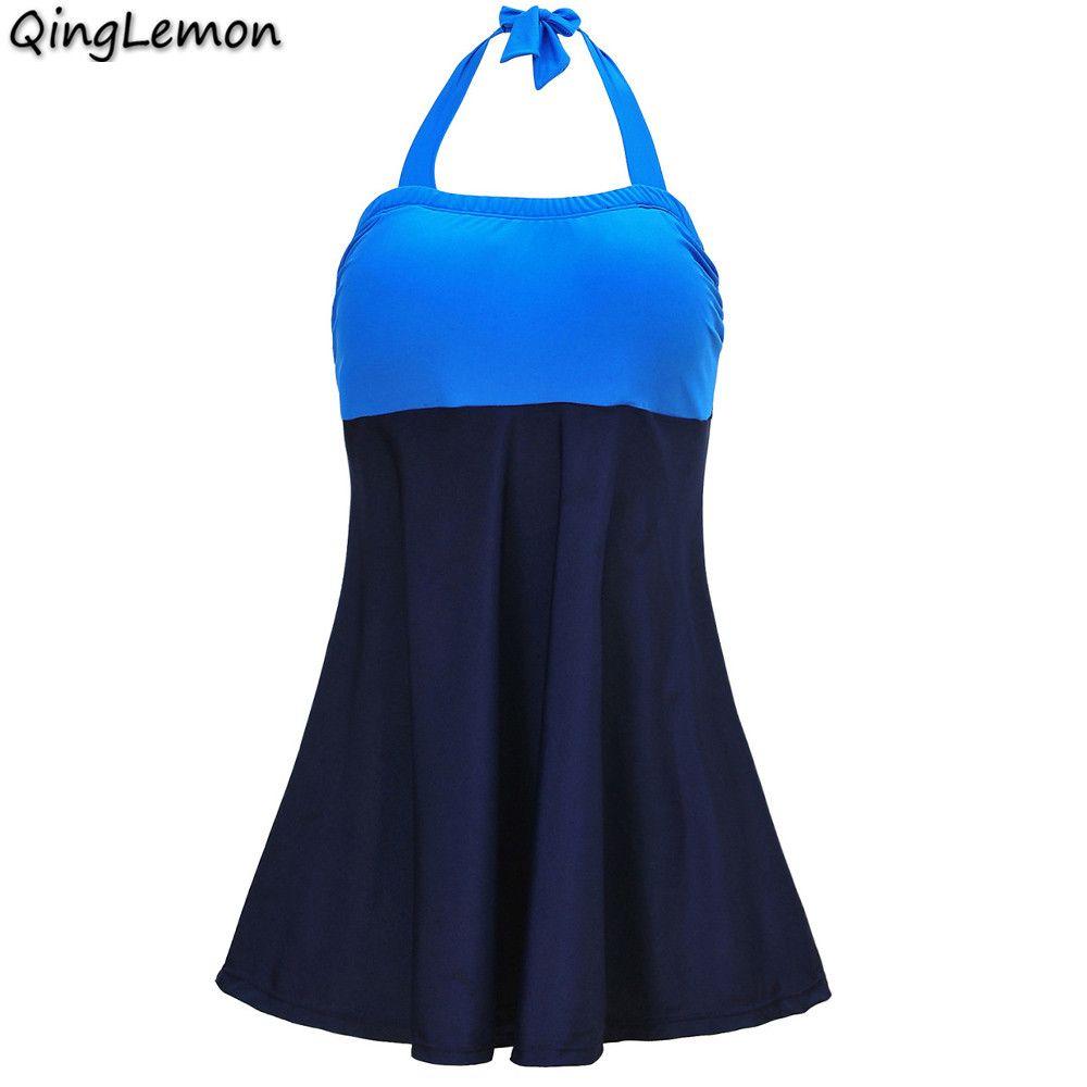 QingLemon Bademode Frau Druck Badeanzug Monokini Schwimmen Kleid Gepolsterte frauen Schwimmen Anzug Sommer Strand Tragen