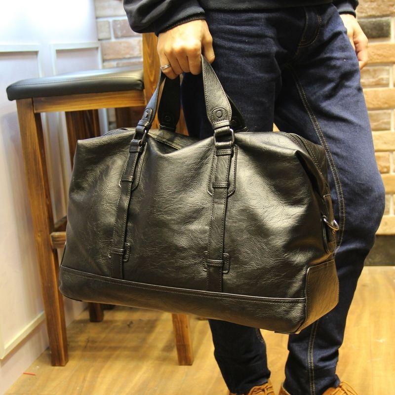 Hohe Qualität PU Leder herren Reisetaschen Große Kapazität Männer Messenger Bags Reise Duffle Handtaschen herren Umhängetaschen