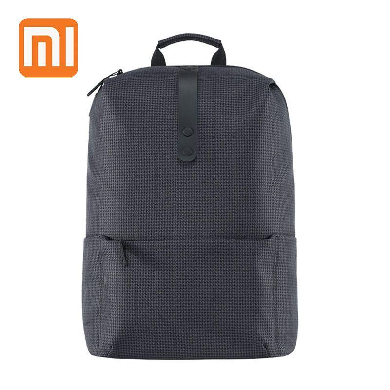 XIAOMI collège Style sac à dos 15.6 pouces sacs pour ordinateur portable grande capacité 18L école pour femmes hommes garçon fille Preppy Style