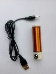USB 5V Electronic Mini Tesla coil lit energy-saving lamp power supply DIY