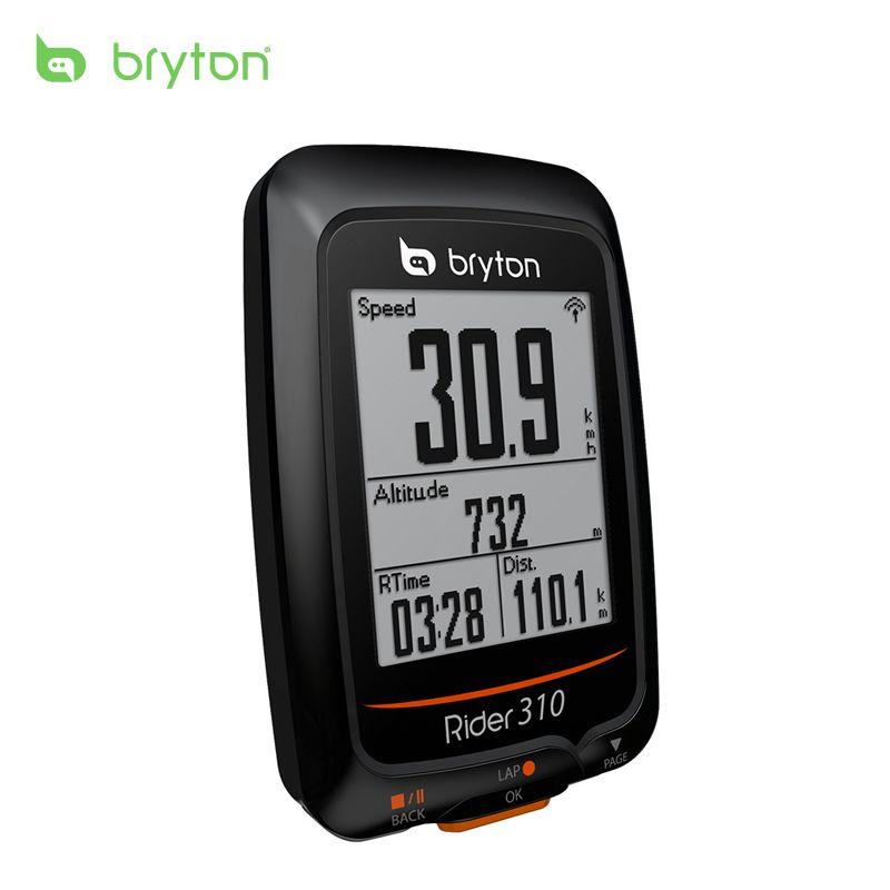 2018 nouveau Bryton Rider 310 activé étanche GPS vélo ordinateur compteur de vitesse bord 200 500 510 800 810 monture