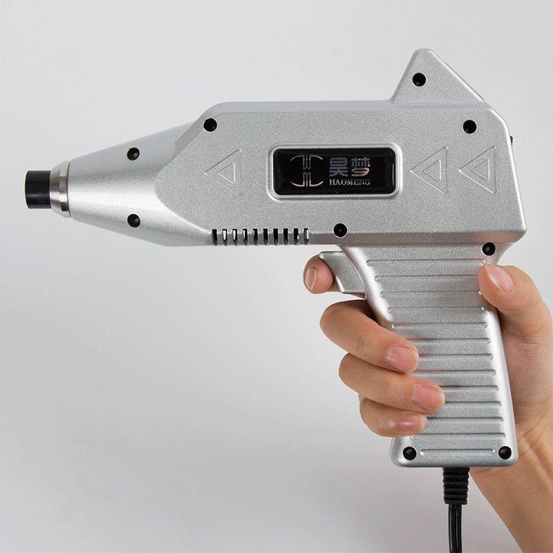 Professionelle Chiropraktik Anpassung Werkzeug 1500N Korrektur Pistole Wirbelsäule Zurück Einstellbare Intensität Therapie Impuls Massager
