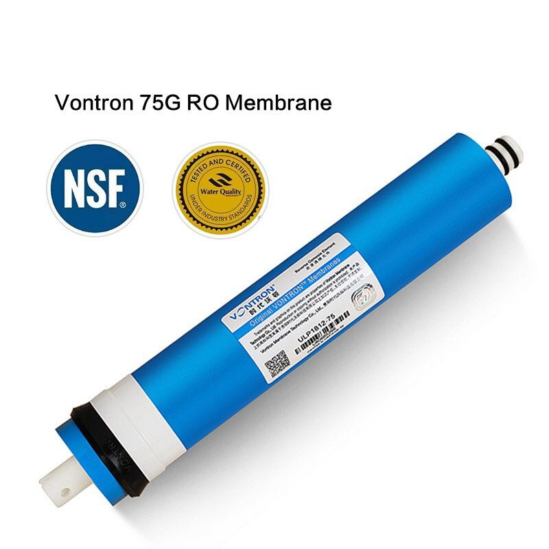 New Vontron 75 gpd RO Membrane For Water Filter Purifier Treatment Reverse Osmosis System NSF National RU warehouse Freeship