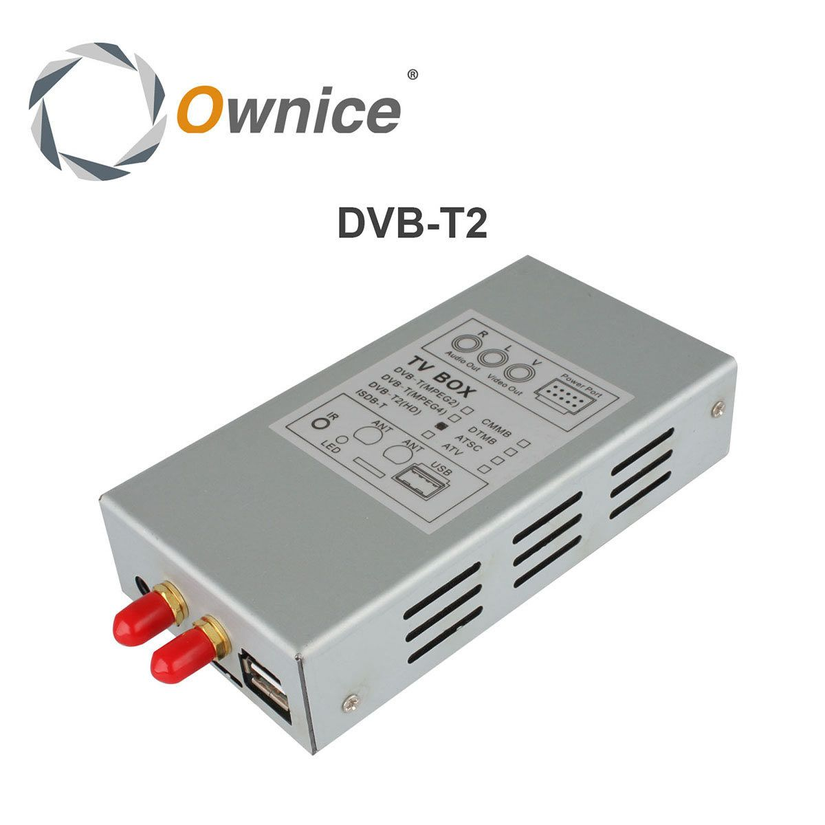 Special DVB-T2 Digital Box for Ownice Car DVD Player For Russia Thailand Malaysia area. The item just for our DVD