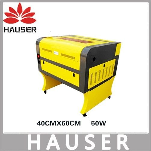 Free Shipping HCZ 50w co2 laser CNC 4060 laser engraving cutter machine laser marking machine mini laser engraver cnc router diy