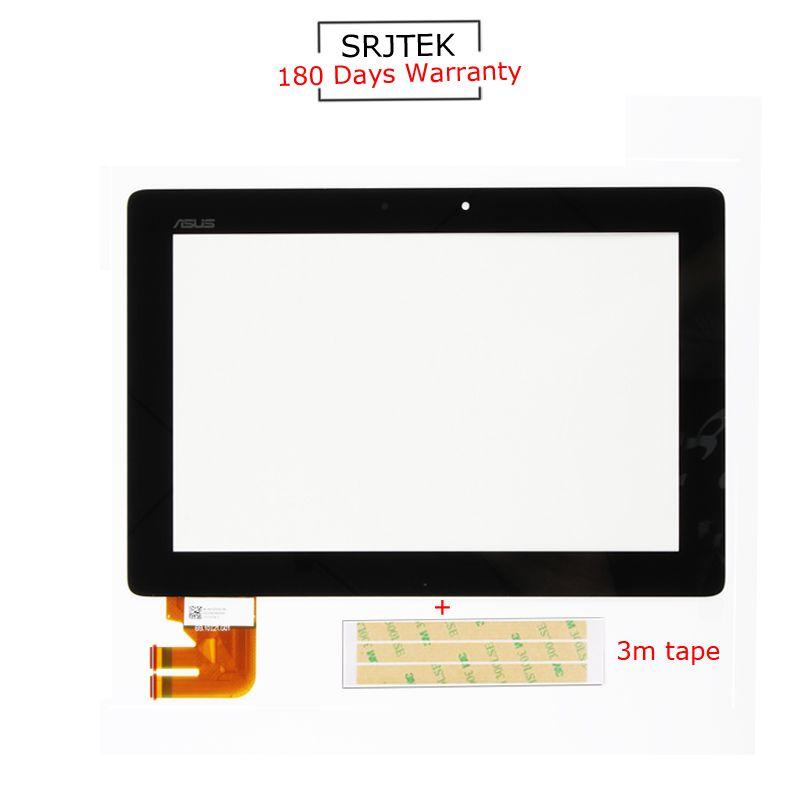 Srjtek For Asus Transformer Pad TF300T TF300 tf300tg G01 Version Black Digitizer Touch Screen Glass 69.10I21. G01