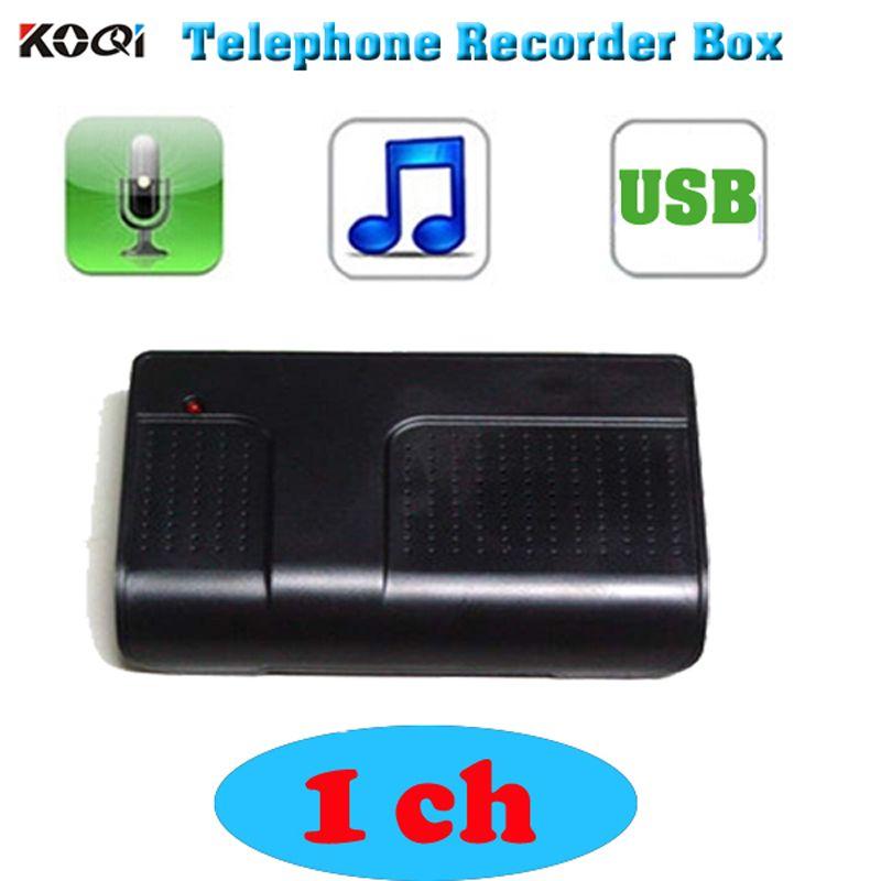 2017 Chaude PC Ordinateur 1 CH USB Téléphone Téléphone Audio Enregistreur Vocal