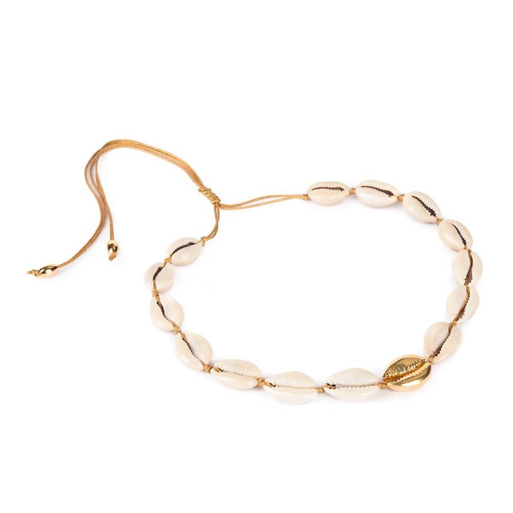 boho Puka Natural cowrie Shell necklace women one direction statement colar feminino punk bijoux choker bts acessorios necklace