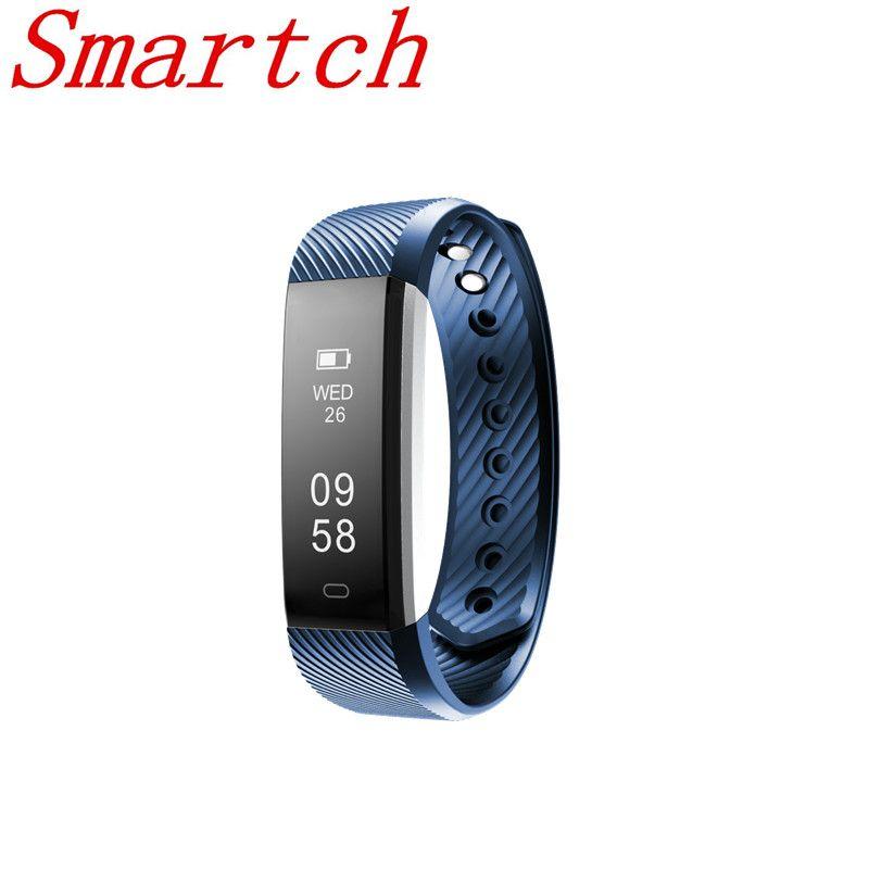 Smartch Pulsometer Uhren Pulsometro Fitness Armband GPS Tracker Schrittzähler Smartband Schrittzähler Vibrierende Fitness Uhr pk f