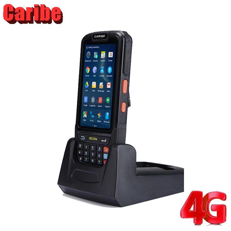 Caribe PL-40L Android Bluetooth Barcode Scanner Handheld Terminal PDA Gerät mit RFID Reader