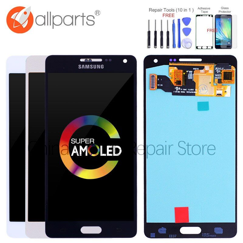 AMOLED LCD for SAMSUNG Galaxy A5 2015 Display A500FU A500 A500F A500M Touch Screen Digitizer Replacement For SAMSUNG Galaxy A5