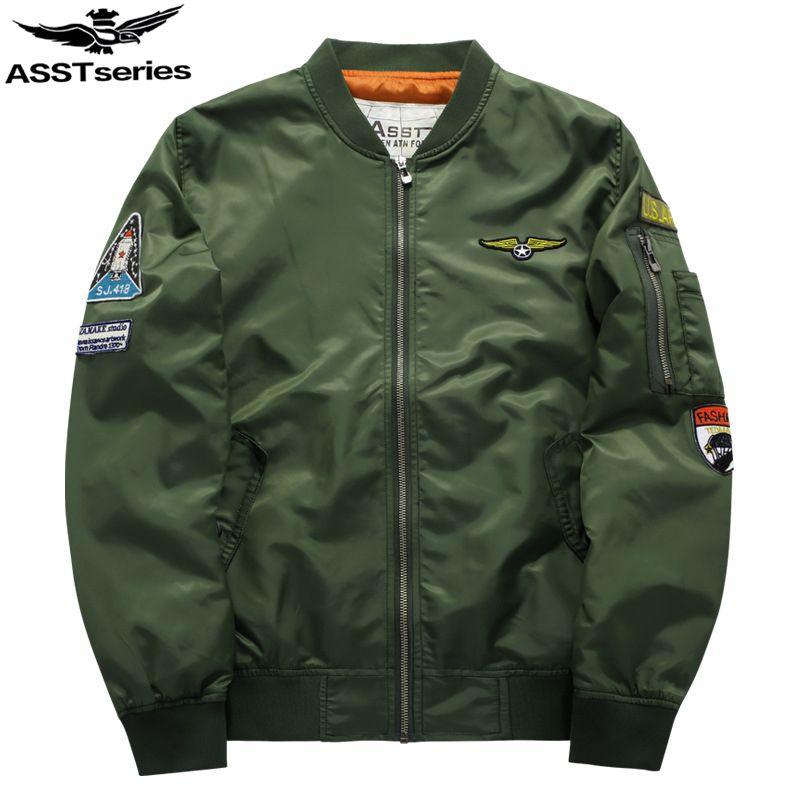 Military Jacket Men Men's MA-1 Style Army Tactical Baseball Jacket Bomber Jackets And Coats For Men Male Militar Chaqueta .DA02