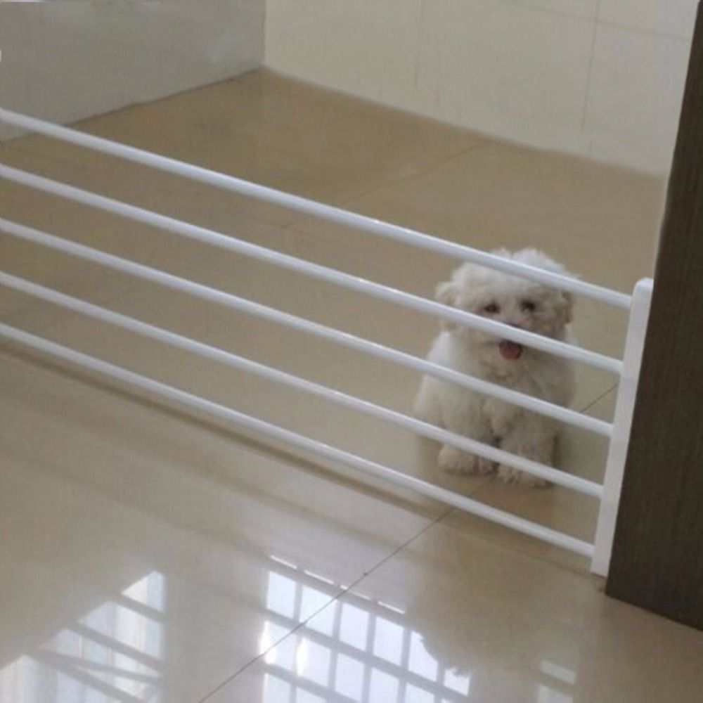 Baby Fence Playpen for Dog Fence Baby Safety Gate Pets Indoor Retractable Pet Isolating Gate Room Plastic Baby Stair Fence Door