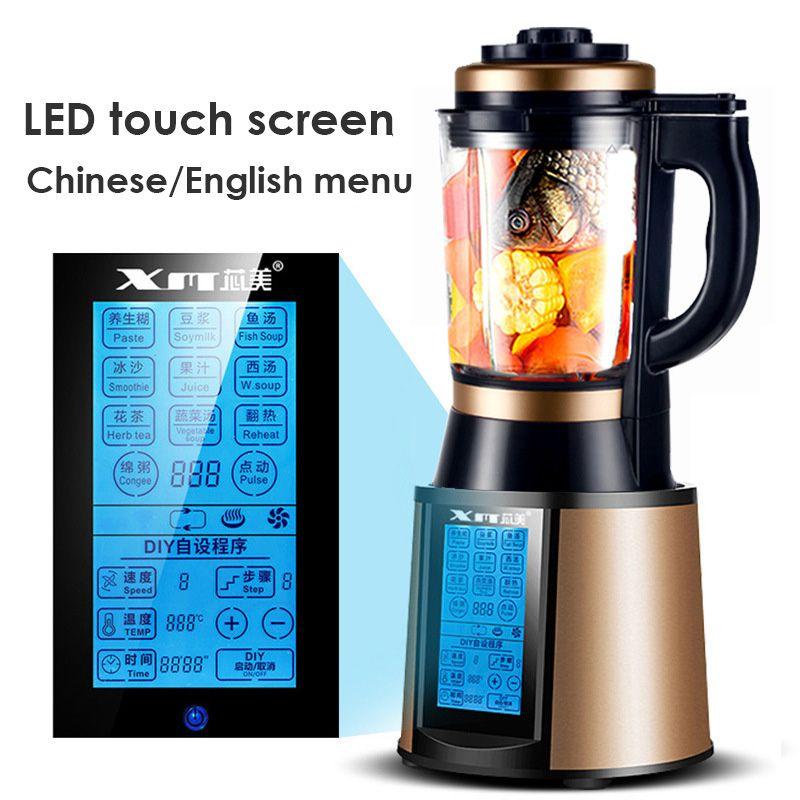 Househlod Multi-funktion Elektrische Kochen Maschine Heizung Mixer Saft Maker Entsafter Küche Lebensmittel Mixer Mixer