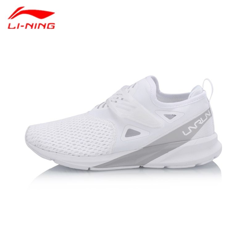 Li-Ning Women's Running Shoes 2018 Color Zone Cushion Breathable Wearable Light Weight Sports Sneakers ARHN086