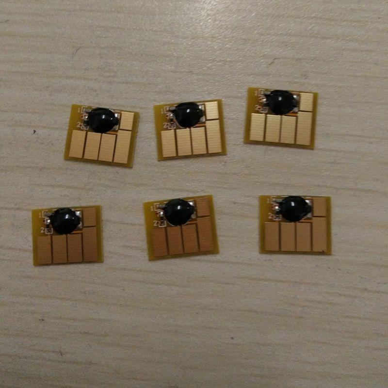 Vilaxh 72 remplacement automatique de la puce de réinitialisation pour HP 72 pour Designjet T610 T620 T790 T1100 T1120 T1200 T770 T2300 imprimante puce permanente