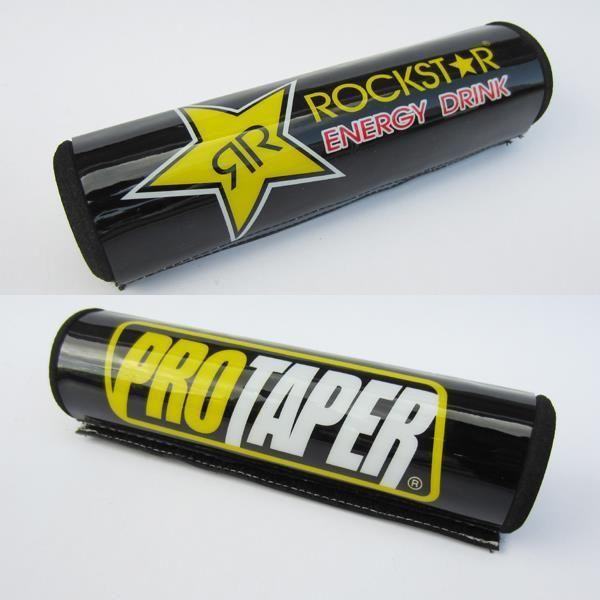 PRO TAPER Rockstar Round Handlebar Protector Bar chest pads for dirt bike pit bike motocross motorcycle ATV free shipping