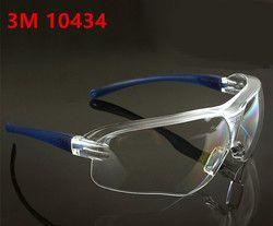 3 M 10434 Kacamata Pengaman Anti-kabut anti-angin pasir Anti Kabut Anti Debu Tahan Transparan Kacamata kacamata pelindung