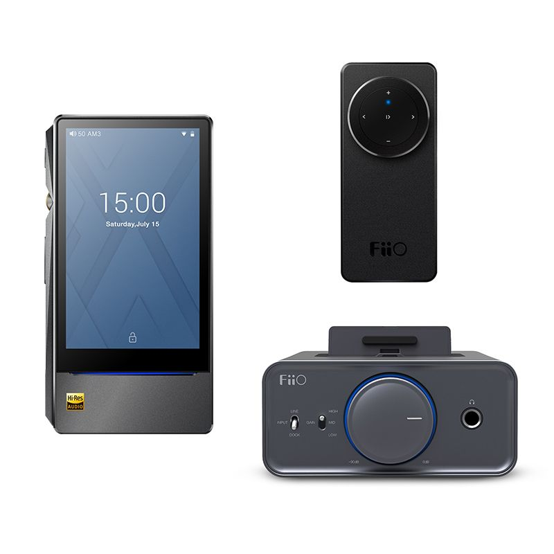 Bundle Sale of FiiO Android-based Music player X7 II with balance am3a with Headphone Amplifier K5