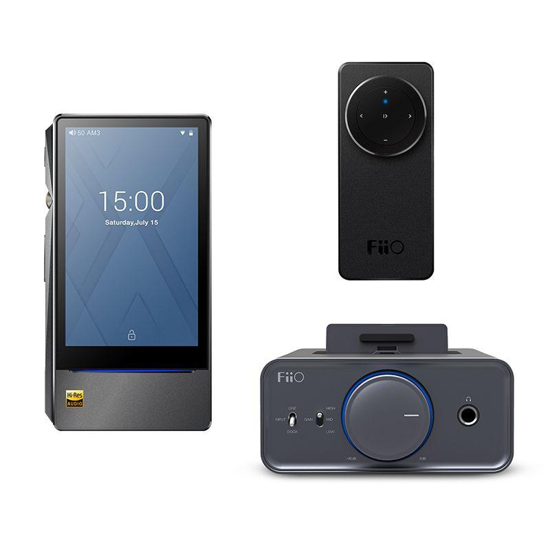 Bundle Verkauf von FiiO Android-basierend musik-player X7 II mit balance am3a mit Kopfhörerverstärker K5