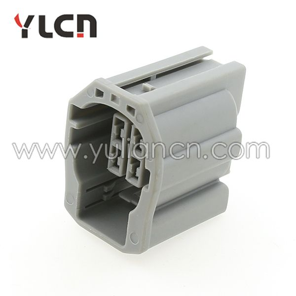 4 pin Gray electric female connector dual-in-line pin connectors for honda