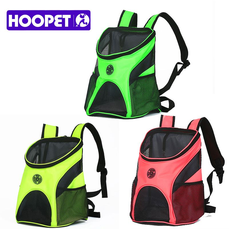 HOOPET Pet Carrier Fashion Breathable Carrying Cat Dog Puppy Comfort Travel Outdoor Shoulder <font><b>Backpack</b></font> Portable