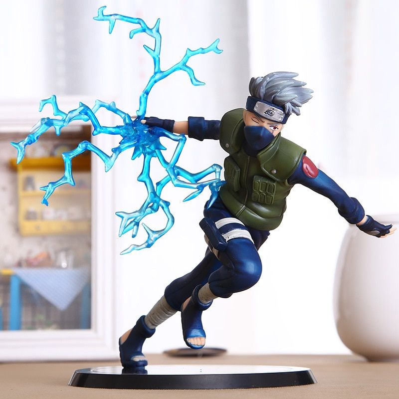 Cool Naruto jouets Kakashi Sasuke figurine jouets Anime marionnettes Figure PVC jouets Figure modèle Table bureau décoration accessoires