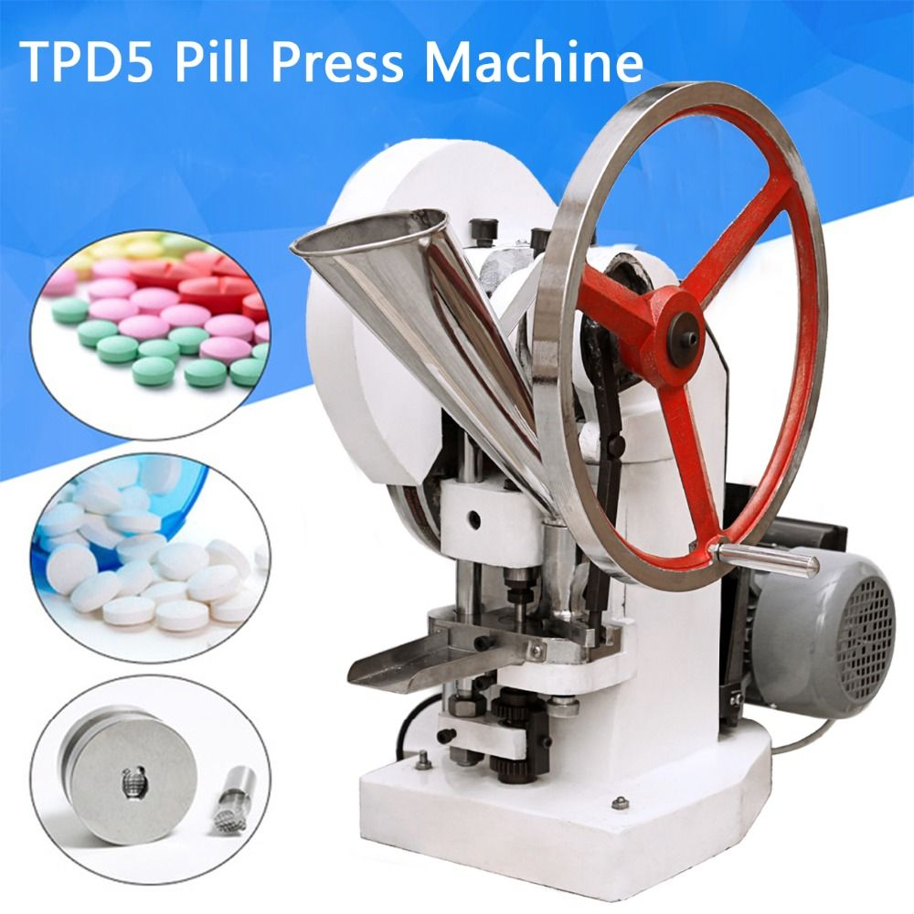 (Ship from UK) Automatic Single Punch Tablet Press Machine Pill Press Pellet Making Machine pillola pressa TDP-5