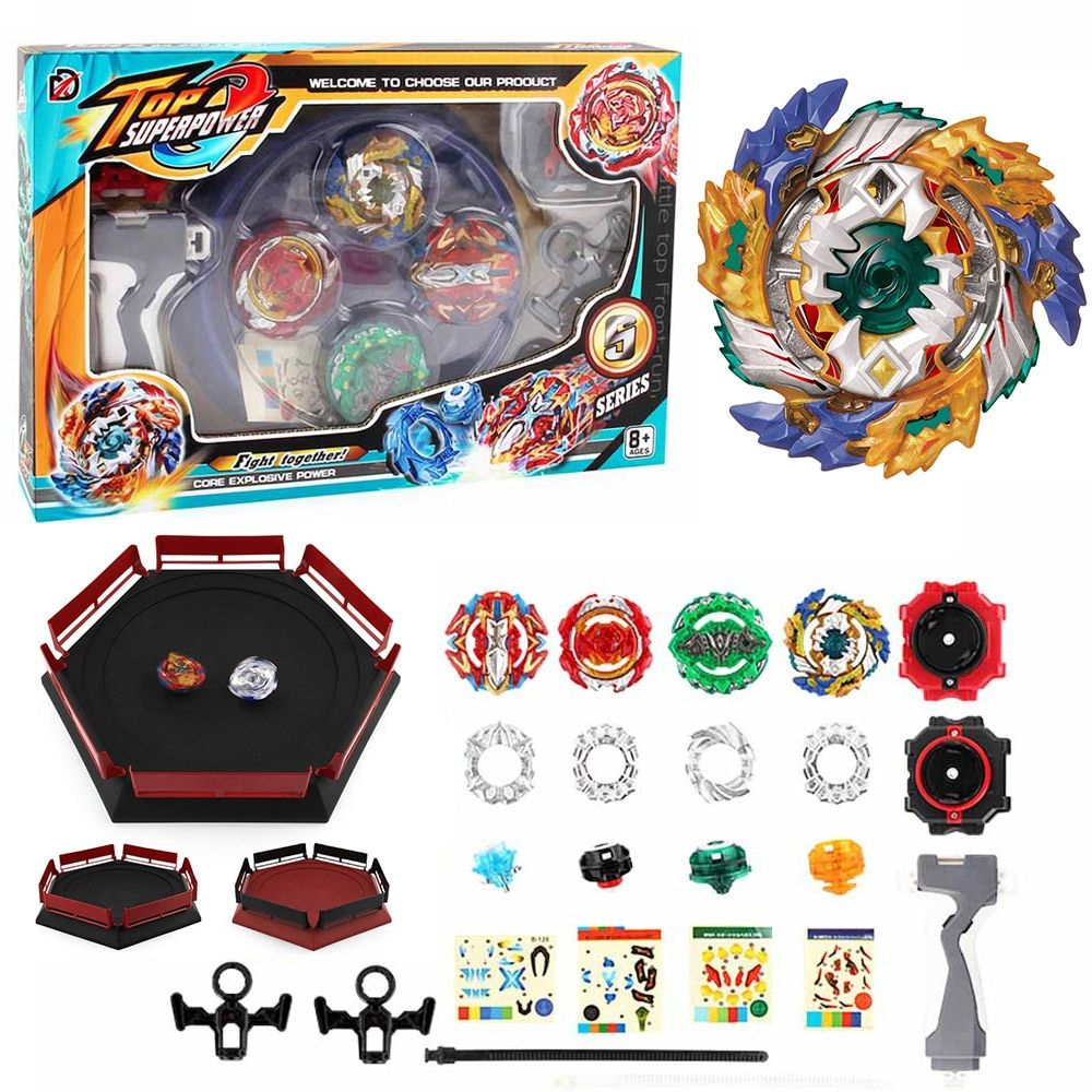 Toupie Beyblade Burst Arena Beyblades Metal Fusion Fafnir Avec Launcher God Spinning Top Bey Blade Blades Classic Toys For Kids