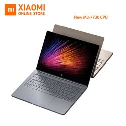 New Xiaomi Mi Laptop Notebook Air English Windows 10 Intel Core M3-7Y30 CPU 4GB DDR3 RAM Intel GPU 12.5 inch display SATA SSD