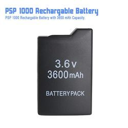 Game accessories for PSP Rechargable Battery ( 3600 mAh Capacity )  battery for PSP 1000 all versions