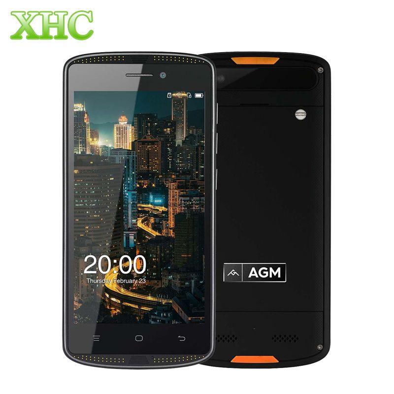 Original AGM X1 mini  2GB+16GB IP68 Cellphone 4000mAh Waterproof 5.0 inch Android 6.0 Dual SIM 4G LTE 1280 x 720 Smart Phone