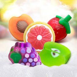 2018 nuevos aceites esenciales hechos a mano jabón niño regalo jabón de frutas baño cuerpo piel jabón Blanqueador