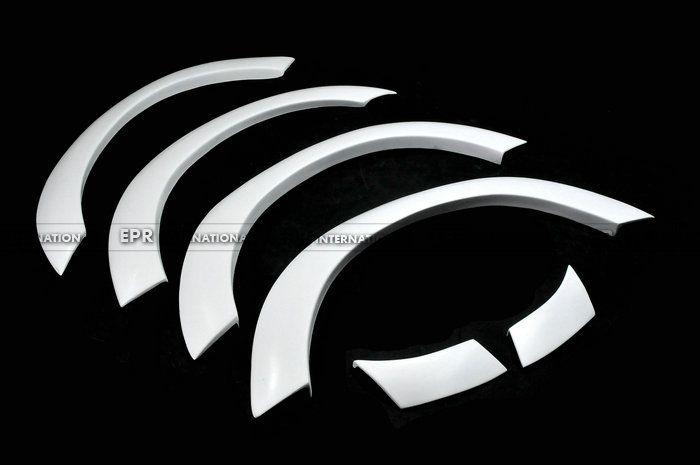 Für Nissan Skyline R33 GTS 400R FRP Fiberglas Rad Arche 6 stücke Außen Kotflügelverbreiterung Body Kit Auto Zubehör Auto Styling