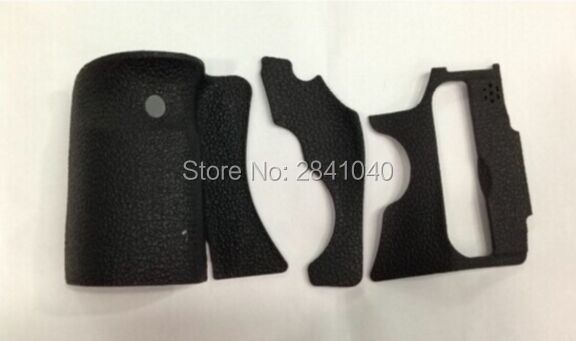 A Set of 3 Pieces Grip Rubber Cover Unit For Canon 60D DSLR Camera With 3M Glue (Free shipping with tracking number)