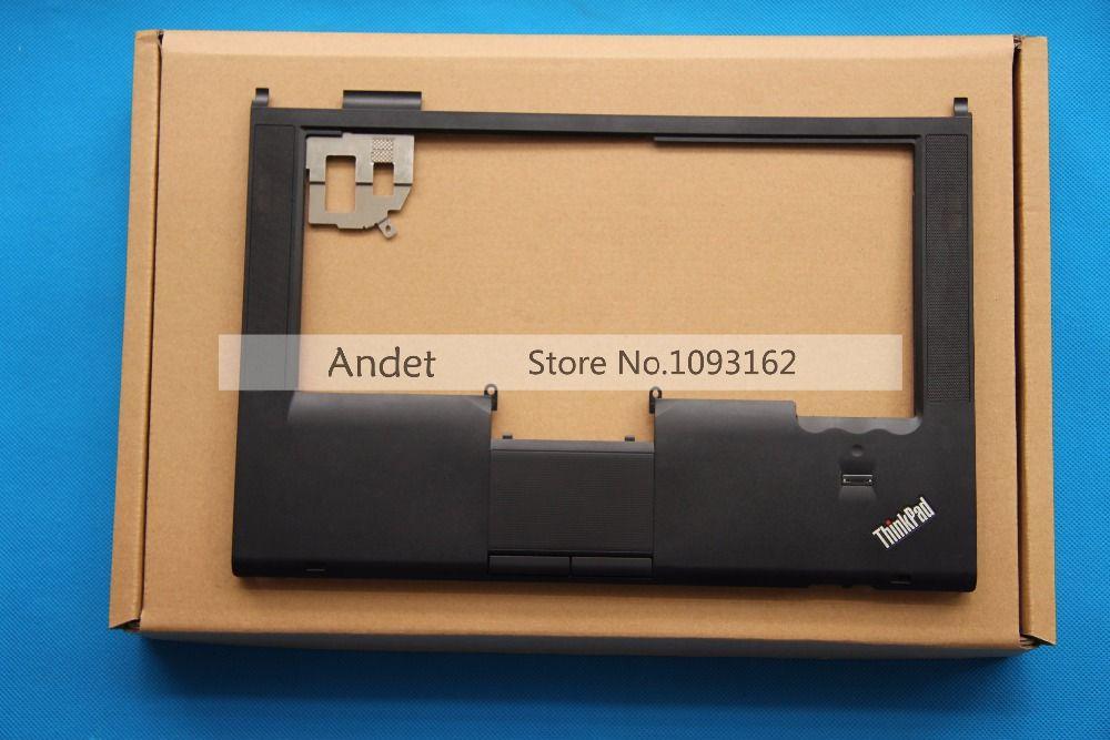 Nouveau Original véritable Thinkpad T420 T420i Palmrest Set clavier lunette couverture avec pavé tactile empreintes W FP TP pour Lenovo 04W1371