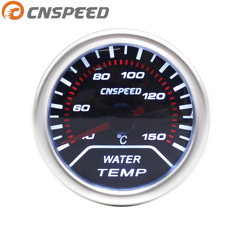 Free shipping CNSPEED Auto Water Temp Gauge 2