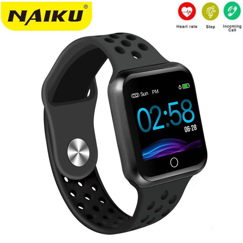 NAIKU S226 montres intelligentes montre IP67 étanche 30 mètres étanche 15 jours longue veille fréquence cardiaque pression artérielle Smartwatch
