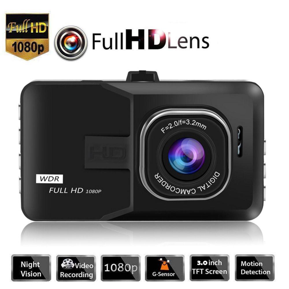 3 Inch Dash Camera Car DVR Rigister 1080P Dash Cam Video Recorder <font><b>Vehicle</b></font> Blackbox DVR For Driving Recording Car Detector/G30