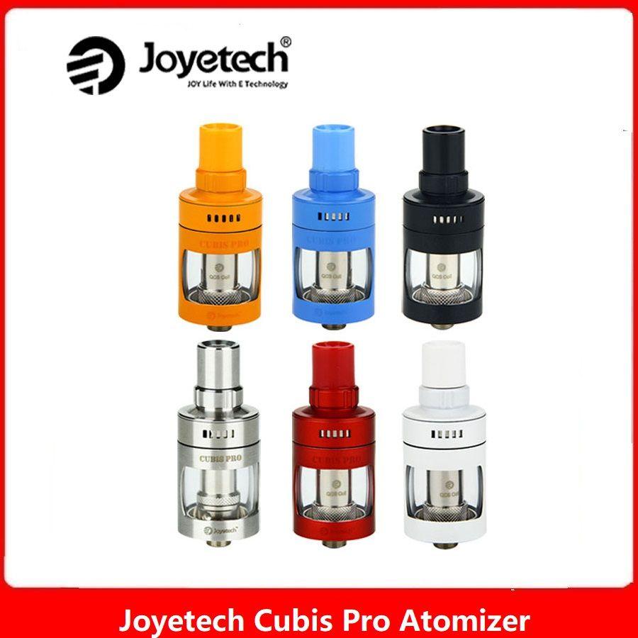 Réservoir d'atomiseur d'origine Joyetech Cubis Pro 4 ml pour bobine interne DL/BF/BF RBA/QCS/LVC Clapton MTL