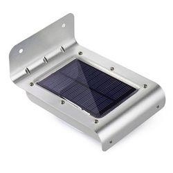 16 Panel de Luz LED Solar Al Aire Libre Desarrollado Sensor de Movimiento Led lámpara Ahorro de Energía de la Lámpara de Pared Solar Luces de Seguridad para Al Aire Libre jardín