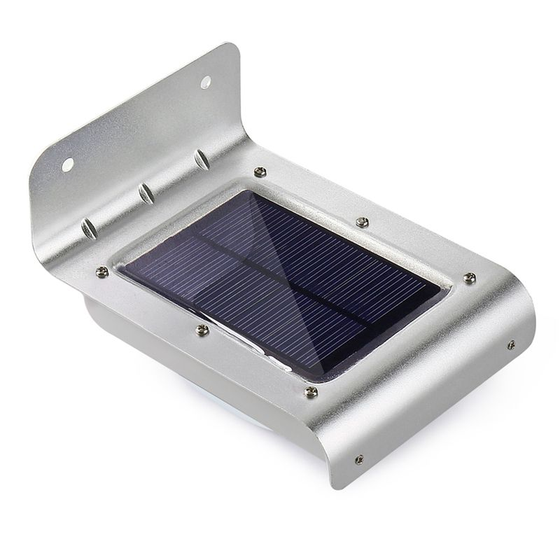 Qedertek 16 LED <font><b>Solar</b></font> PIR Outdoor Light <font><b>Solar</b></font> Powered Motion Sensor Led Lamp <font><b>Solar</b></font> Security Wall Lights for Outdoor Garden Patio