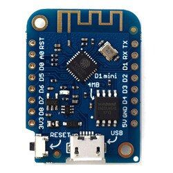 WEMOS D1 mini V3.0.0 - WIFI Internet of Things development board based ESP8266 4MB MicroPython Nodemcu Arduino Compatible
