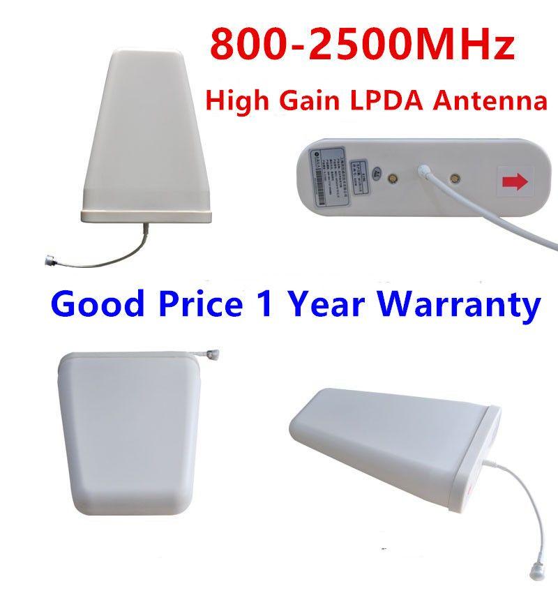 Открытый ПДСХР Телевизионные антенны высокого усиления 800-2500 мГц gsm 2 г 3 г 4 г журнал периодических Телевизионные антенны внешний телевизион...