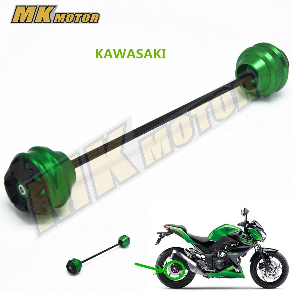 BYSPRINT Free shipping Front Axle Fork Slider Cap Cover Falling Crash Protector Fit for Kawasaki Z800 Z 800 2013-2015   8 color