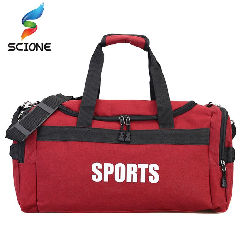 Открытый Спорт Тренажерный Зал Сумка Дорожная сумка для Для мужчин Фитнес Training сумка для Для женщин Йога Чемодан duffles Сумки через плечо