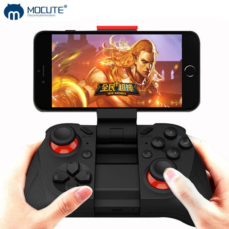 MOCUTE 050 VR Jeu Pad Android Gamepad pour PC Joystick Android Bluetooth Contrôleur Selfie Télécommande Joypad pour Téléphone Intelligent