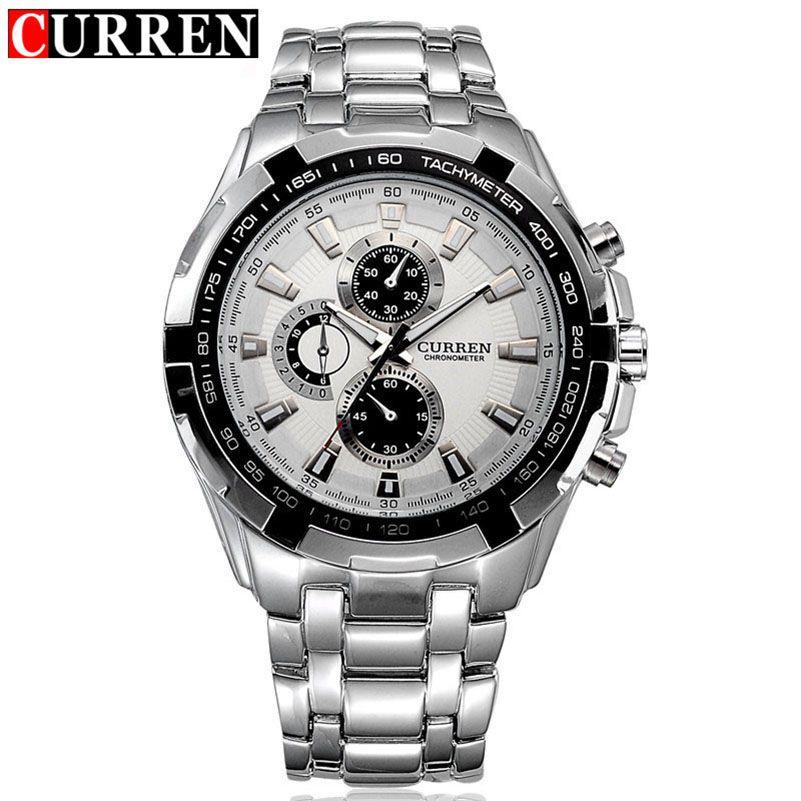 curren watch men military relogio masculino quartz-watch mens watches top brand luxury sport wristwatch mens fashion brand 2017