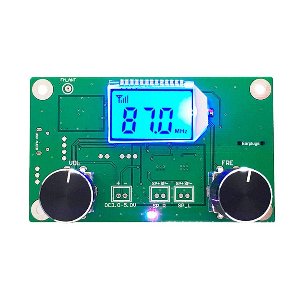 1 PC 87-108MHz DSP & PLL LCD stéréo Module récepteur Radio FM numérique + contrôle série